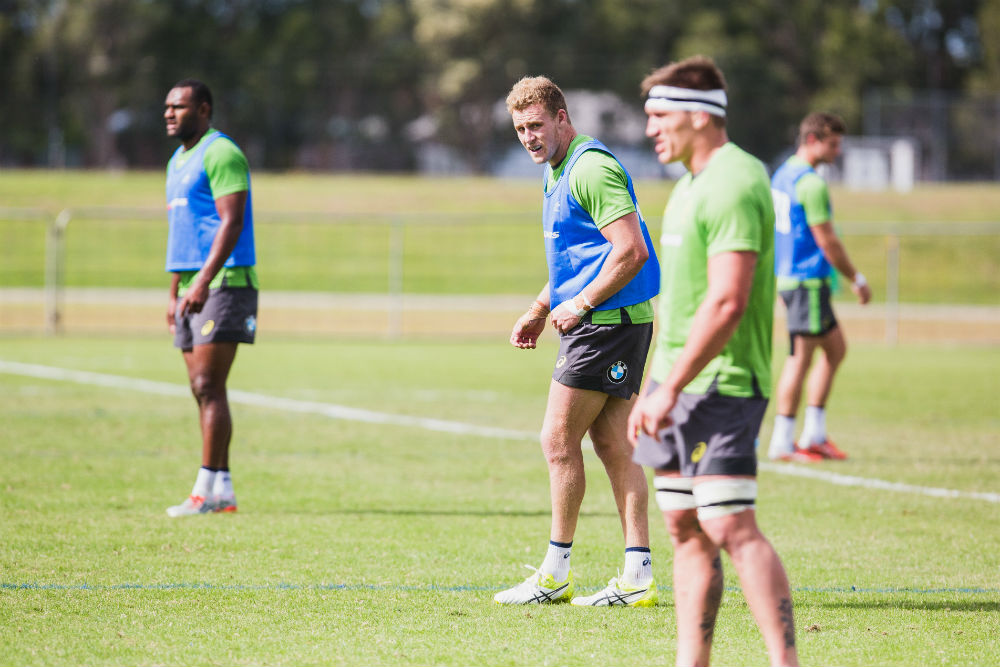 Hodge was originally named in the squad as a replacement to injured back Mike Harris. Photo: ARU Media/Brian Hook