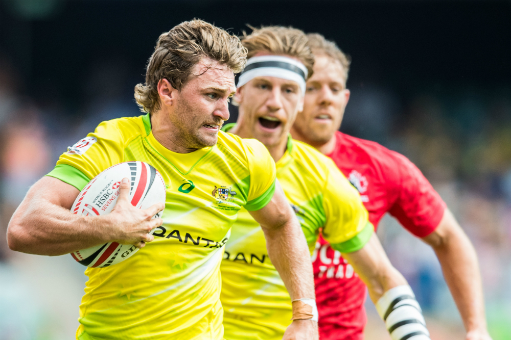 Holland has been one of the stars on this season's World Series. Photo: RUGBY.com.au/Stuart Walmsley