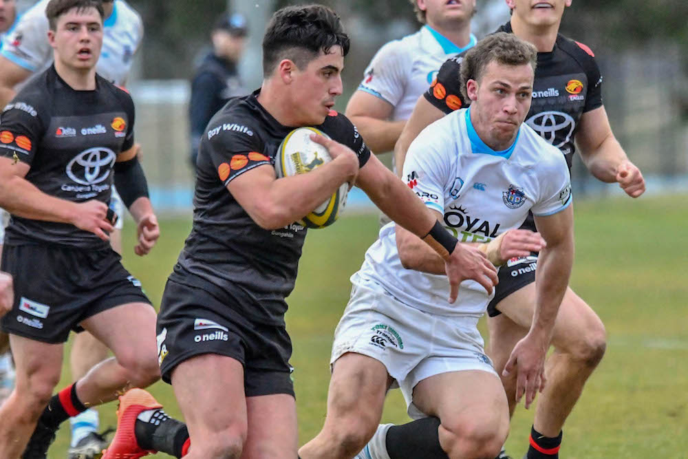 The Eagles and Whites in action in 2020.