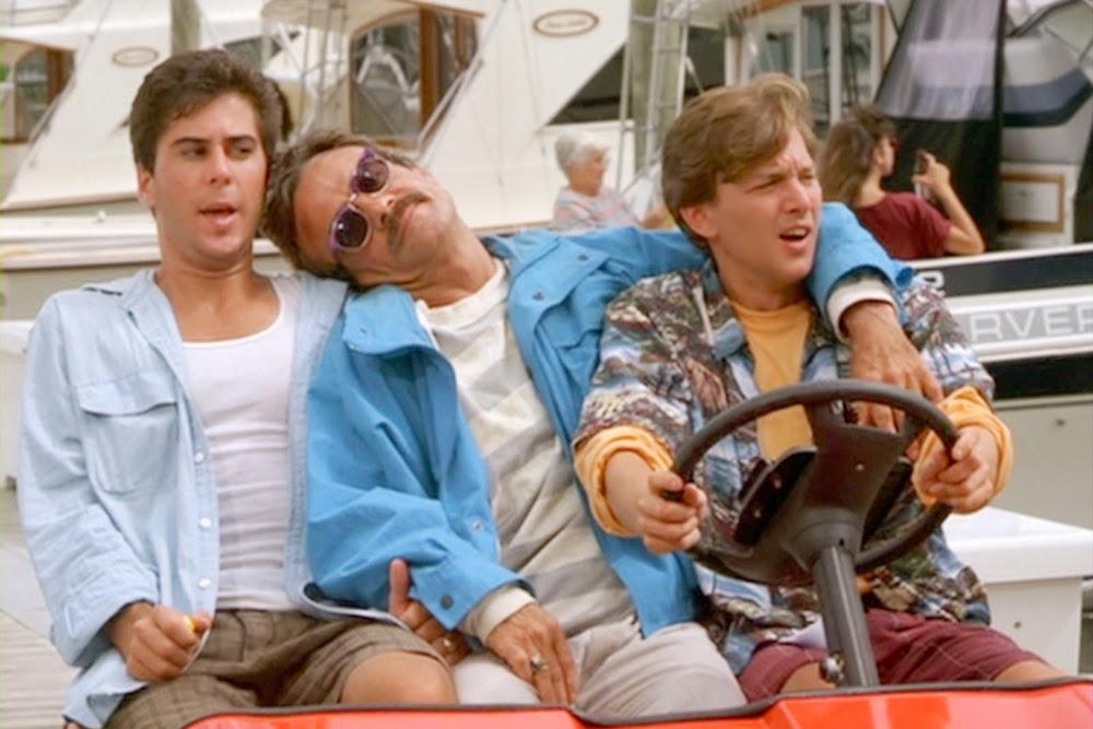 How we got Bernie. Weekend at Bernie's from 1989. Photo: 20th Century Fox