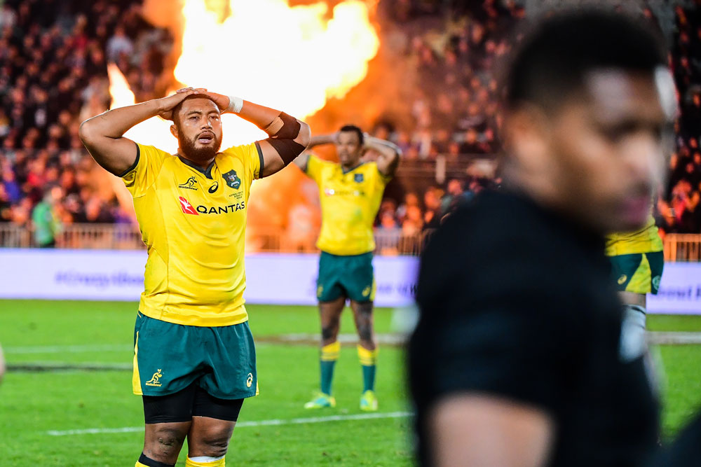 Sekope Kepu was left out of the 23 which beat the Springboks after struggling in the Bledisloe Tests. Photo: RUGBY.com.au/Stuart Walmlsey