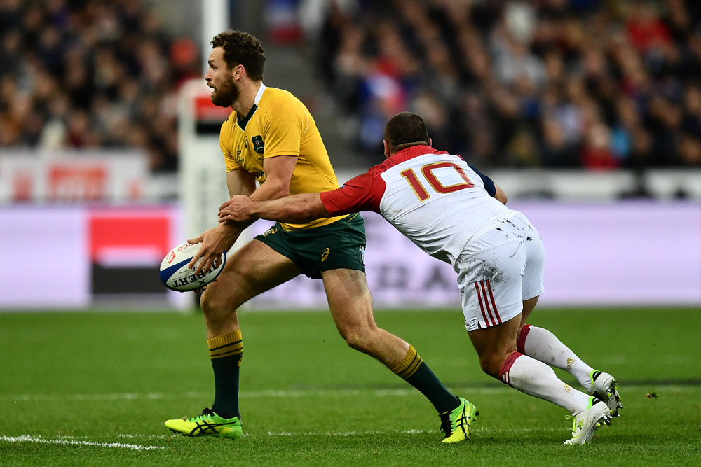 Luke Morahan played fullback for the Wallabies. Photo: Getty Images