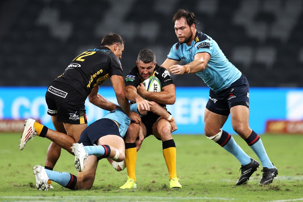 Rob Kearney takes the ball to the line for the Western Force. Photo: Getty Images