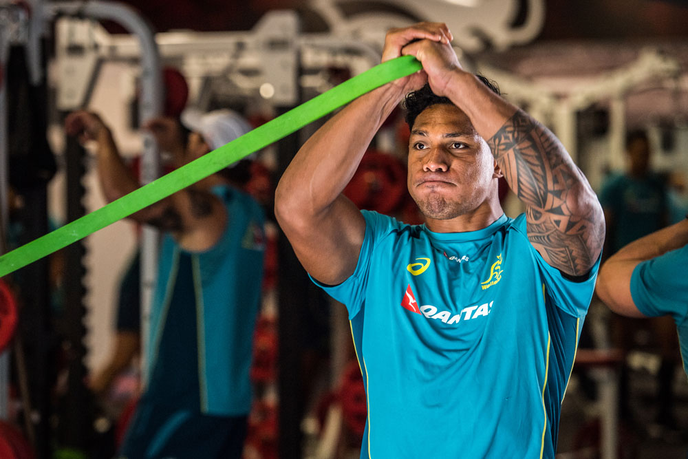 Lopeti Timani has worked hard to get his fitness back on track. Photo: RUGBY.com.au/Stuart Walmsley