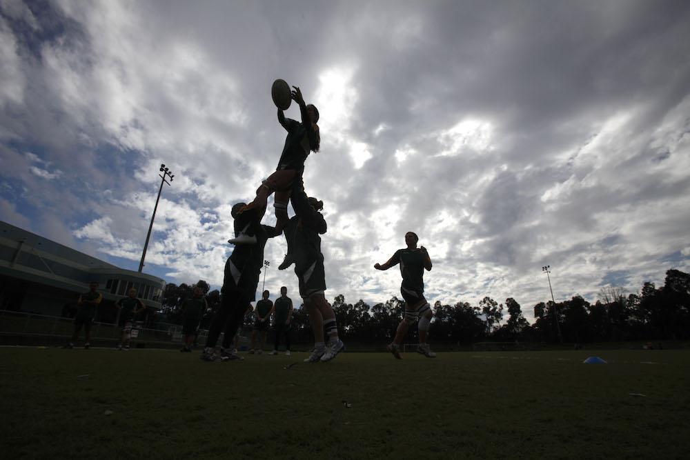 Wallaroos soar at Bond University on the Gold Coast. Photo: ARU Media