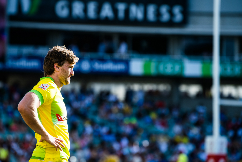 Lewis Holland will not feature at the Commonwealth Games. Photo: RUGBY.com.au/Stuart Walmsley