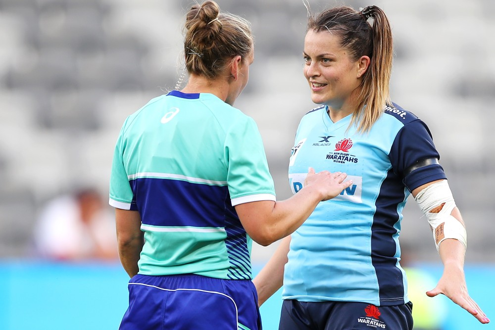 Amber McLachlan is set to referee the Super W Final. Photo: Getty Images