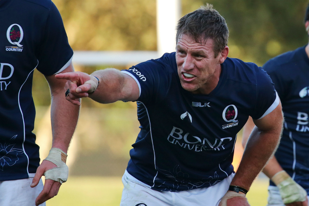 Brad Thorn will make his starting debut in the Buildcorp NRC this weekend. Photo: Karen Watson
