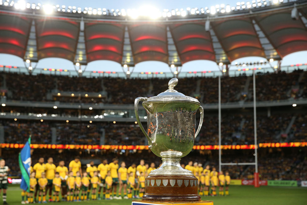 The ongoing COVID outbreak in Australia has forced SANZAAR and the respective bodies to reconsider the Bledisloe and TRC. Photo: Getty Images