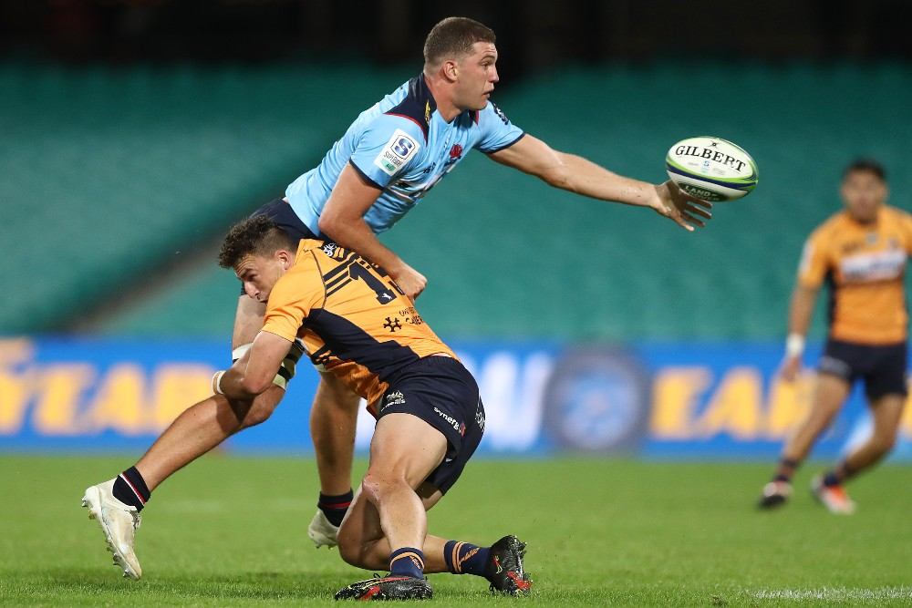 Will Harris in action for the NSW Waratahs against the Brumbies. Photo: Getty Images