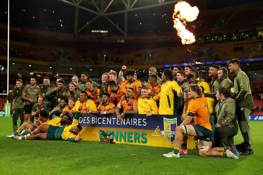 The Wallabies eToro Rugby Championship tickets have gone on sale. Photo: Getty Images