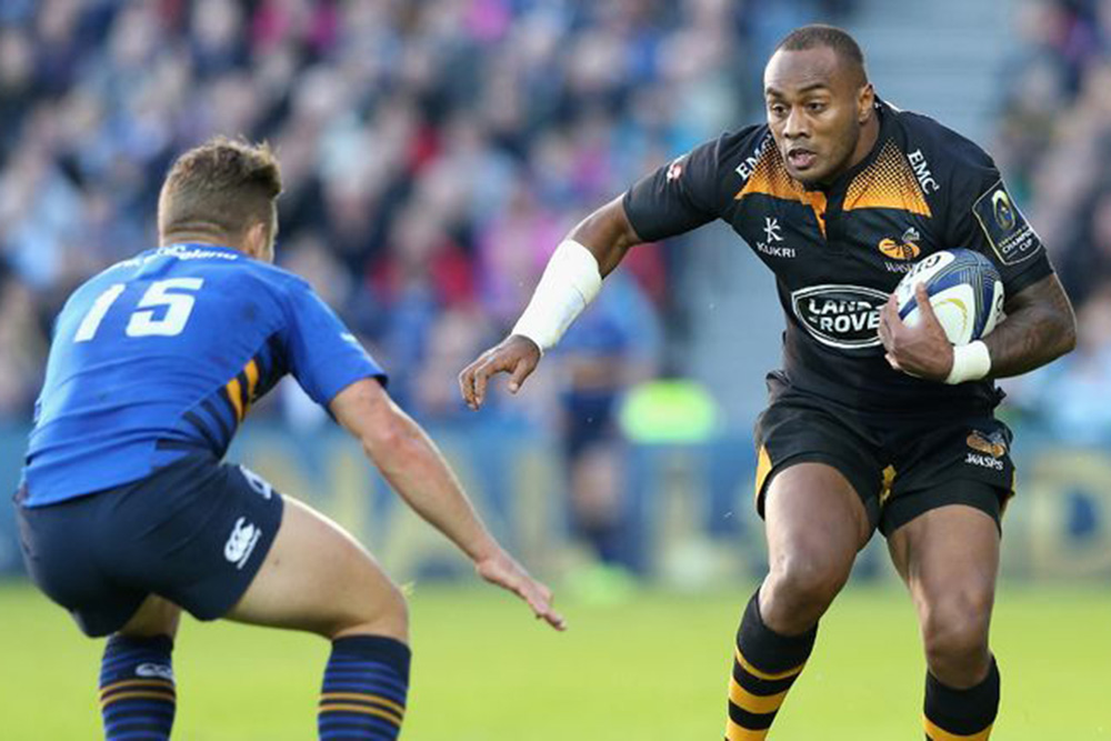 Sailosi Tagicakibau in action for the Wasps. Photo: SkySports