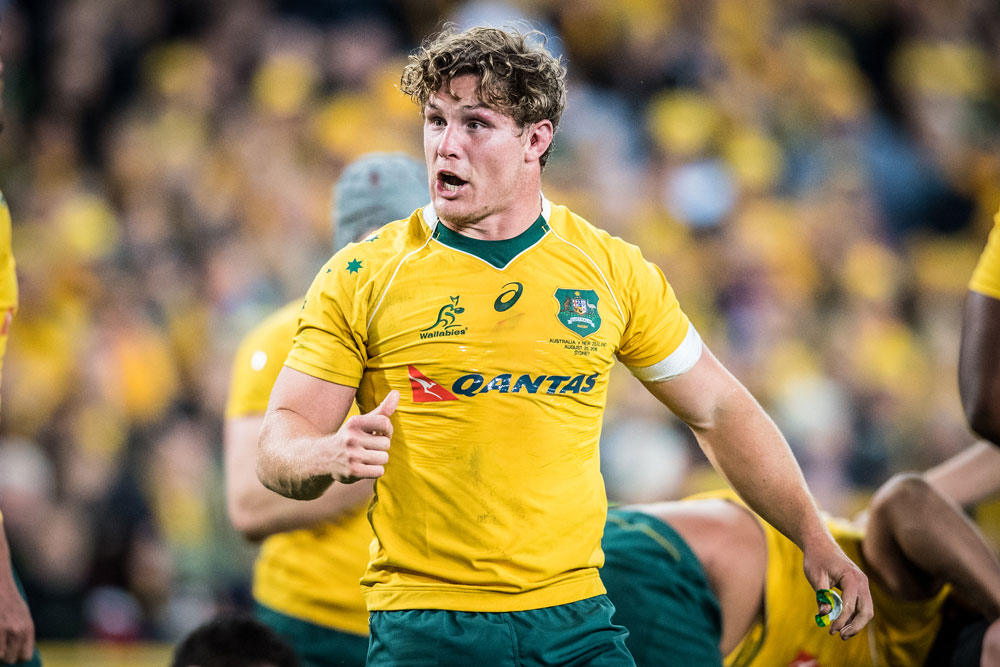 Michael Hooper has been reappointed as Wallabies captain under Dave Rennie. Photo: Getty Images