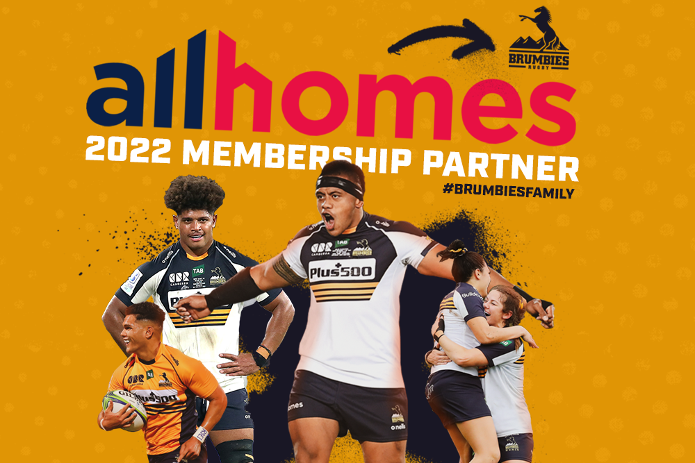 Founded in 2000, Allhomes has been a long-time supporter of the Brumbies, and has grown to become Canberra's leading local property website.
