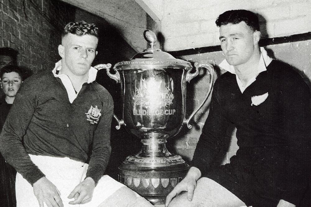 Captains John Solomon and K. Skinner 1952