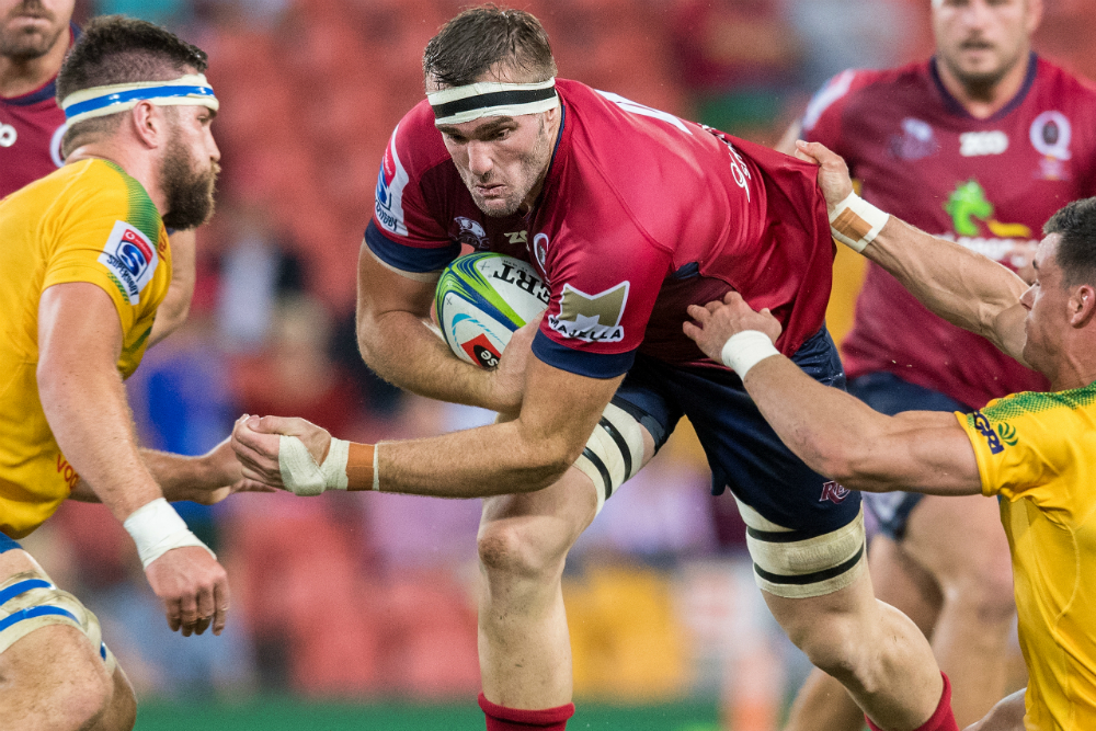 Retaining Rodda would be a huge coup for the Reds. Photo: RUGBY.com.au/Stuart Walmsley