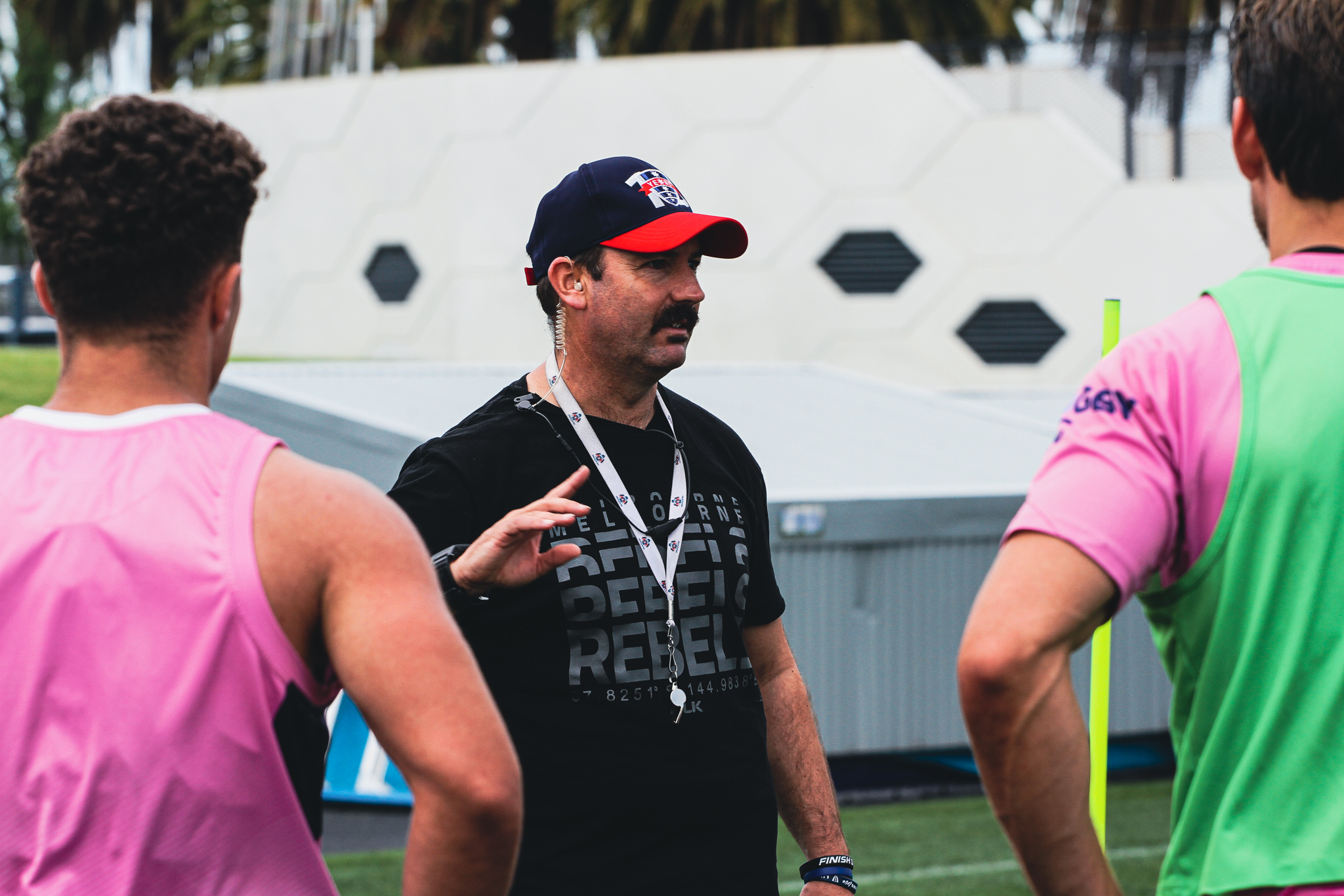 Ryan Martin has hit the ground running as the Rebels prepare for a big 2022 campaign.