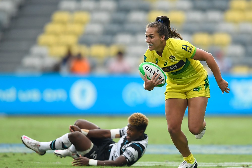 Vani Pelite believes their Darwin preparation has them primed for a strong Tokyo performance. Photo: Getty Images