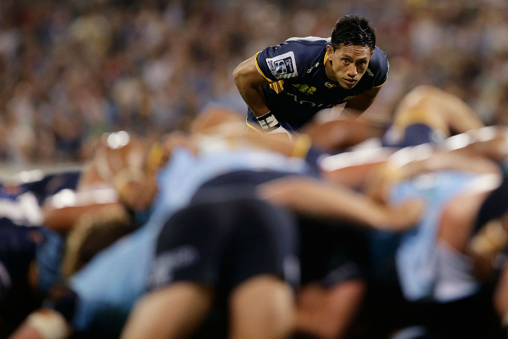 Christian Lealiifano and Matt Toomua will need to be tactical with their in-game kicking. Photo: Getty Images