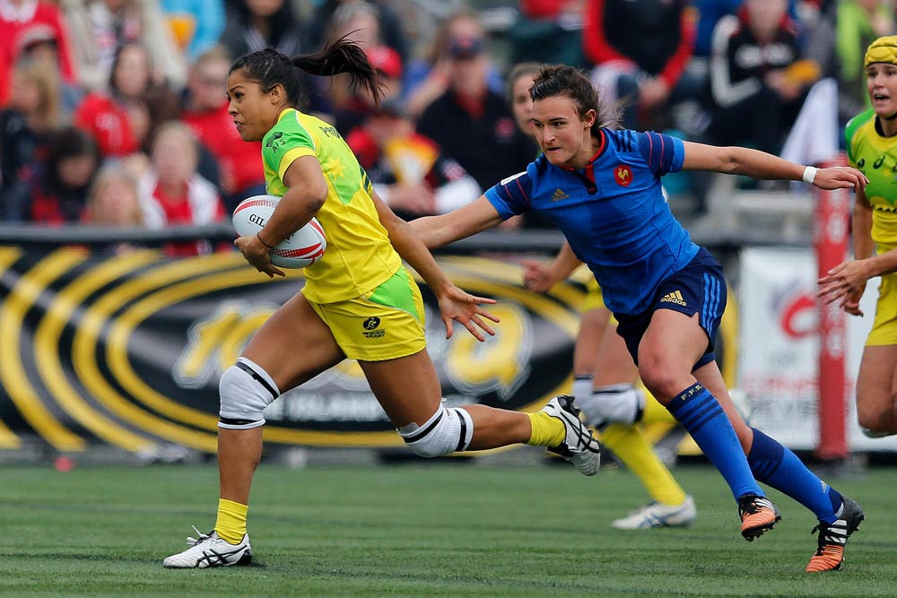 The Aussie Sevens finished third in Canada. Photo: World Rugby