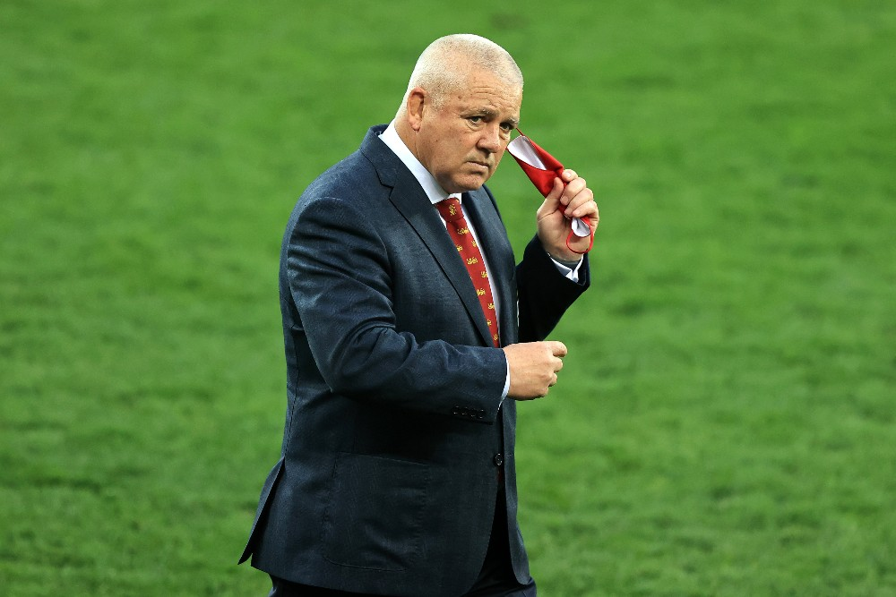Warren Gatland has walked away from coaching the Chiefs into a Director's Role. Photo: Getty Images