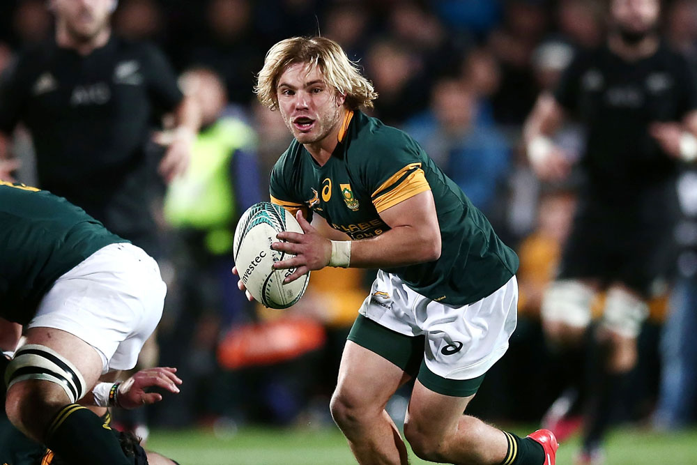 Faf De Klerk will replace Rudy Paige this weekend. Photo: Getty Images