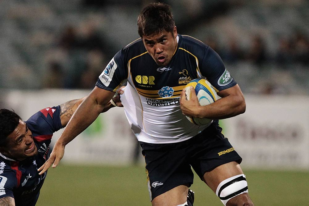 Jarrad Butler is one of a handful of players from TSS to feature in the Force-Brumbies clash. Photo: Getty Images