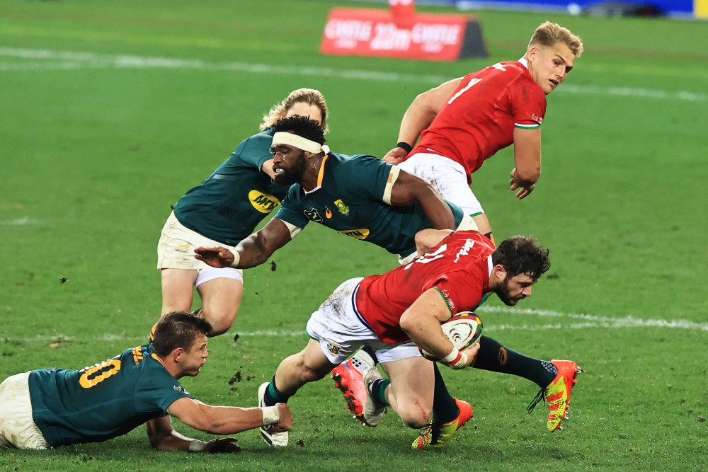 The Lions are bracing for a fired up Springboks outfit. Photo: Getty Images