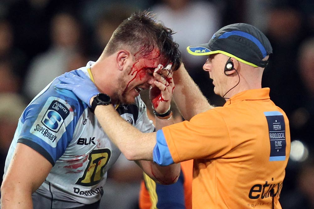 Ross Haylett-Petty threw his body on the line against the Highlanders. Photo: Getty Images