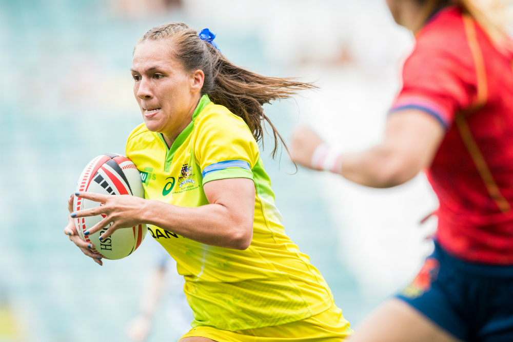 The Aussies are flying on day one. Photo: RUGBY.com.au/Stuart Walmsley
