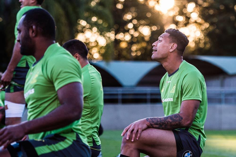 Where will Folau play? Photo: ARU Media/Stu Walmsley