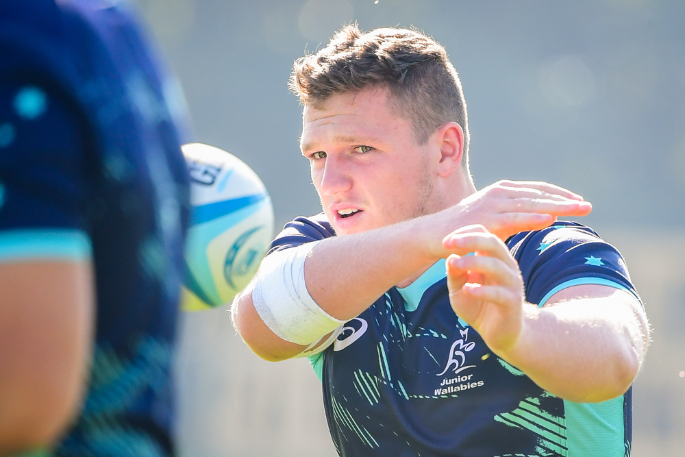 Angus Bell is one of a number of players returning to the Junior Wallabies in 2020. Photo: RUGBY.com.au/Stuart Walmsley