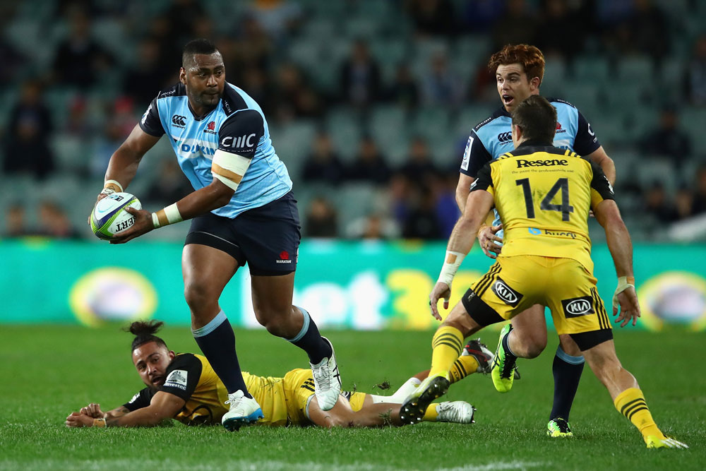 The Waratahs faced the Hurricanes. Photo; Getty Images