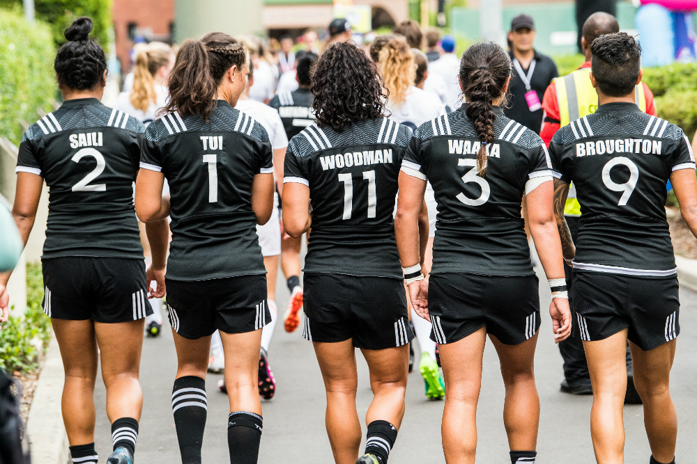 New Zealand are flying on day one. Photo: RUGBY.com.au/Stuart Walmsley