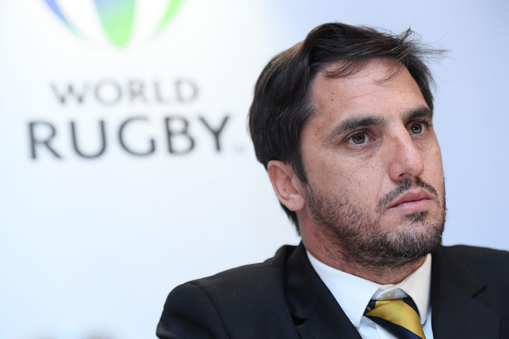 Former Los halfback, Agustin Pichot elected World Rugby vice-chairman. Photo: Getty Images