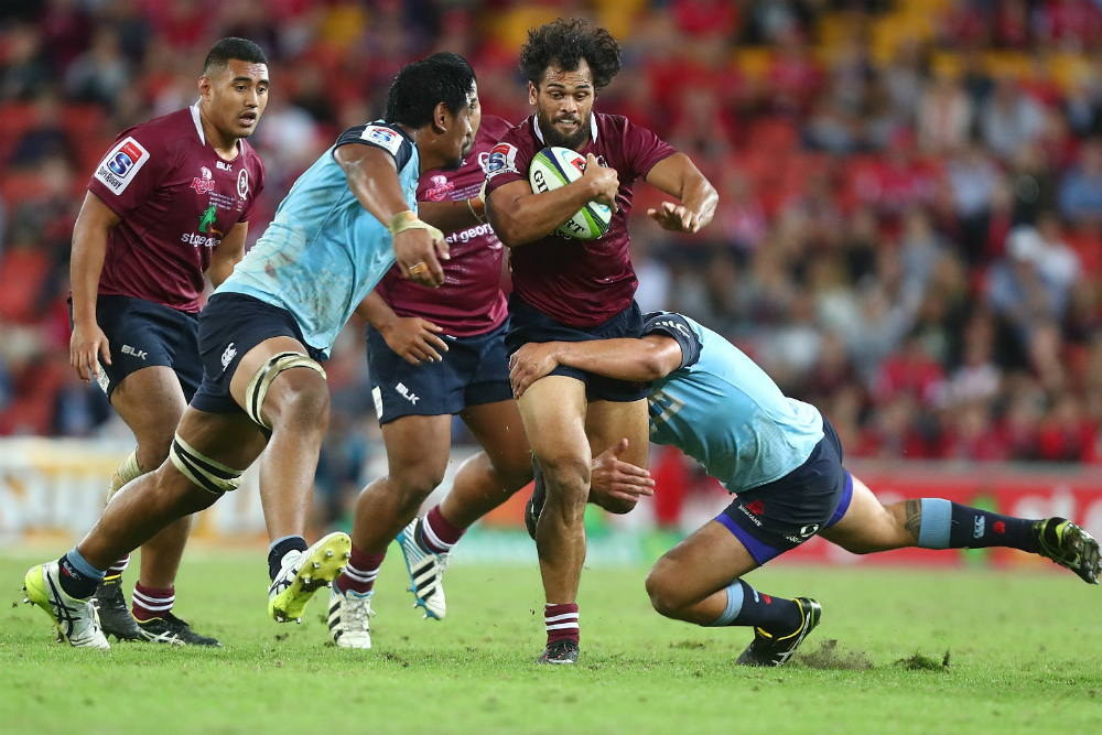 Karmichael Hunt has joined the Waratahs. Photo: Getty Images