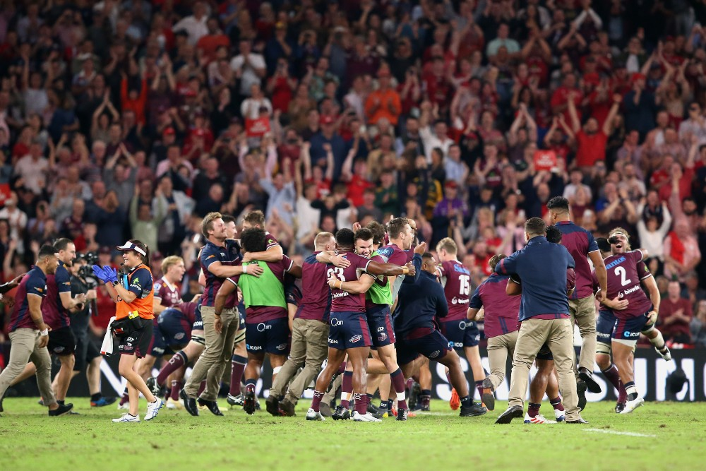 The Queensland Reds enter Super Rugby Trans-Tasman as the Australian team to beat. Photo: Getty Images